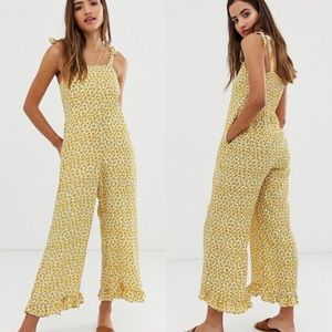 NWT | Faithfull the Brand Frankie Floral Jumpsuit